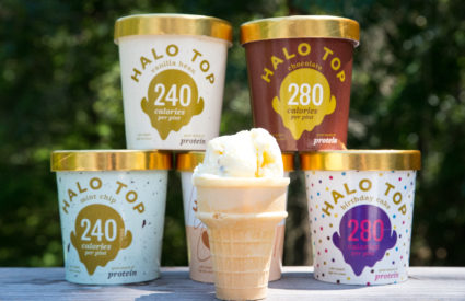 Frozen Favorites Recipe Remix with Halo Top