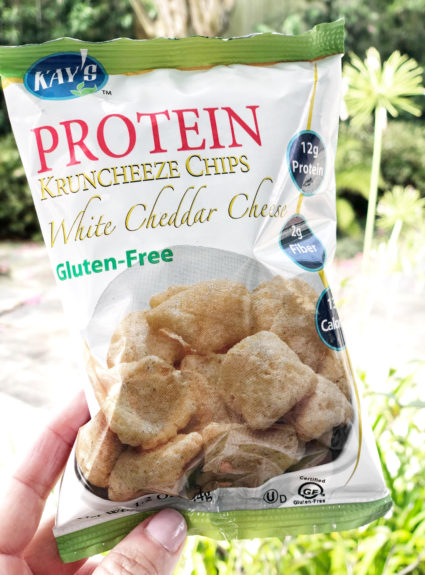 Crunch on this! Protein Chips are a thing.
