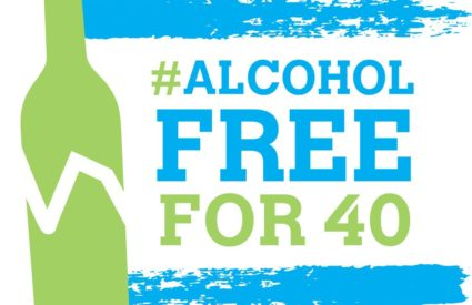 Revel in Mardi Gras. Then, join us for #AlcoholFreefor40 2.0